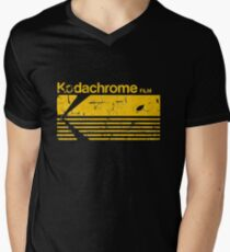 Vintage Photography: Kodak Kodachrome - Yellow Men's V-Neck T-Shirt