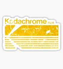 Vintage Photography: Kodak Kodachrome - Yellow Sticker