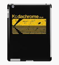 Vintage Photography: Kodak Kodachrome - Yellow iPad Case/Skin