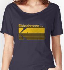 Vintage Photography: Kodak Ektachrome - Yellow Women's Relaxed Fit T-Shirt