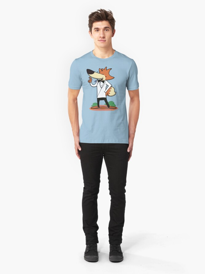 Alternate view of Spy Fax! Slim Fit T-Shirt