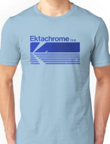 Vintage Photography: Kodak Ektachrome - Blue Unisex T-Shirt
