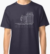 Vintage Photography - Graflex Blueprint (Version 2) Classic T-Shirt