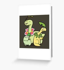 Number 152, 153 and 154 Greeting Card