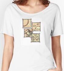 Sticky Note - Pieces of Seattle Women's Relaxed Fit T-Shirt