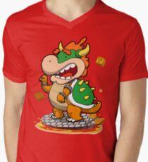 8-4 Boss Mens V-Neck T-Shirt