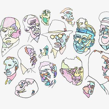 Old Men  by koriwaring
