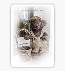 Teddy Bear Picnic Sticker
