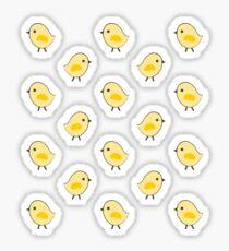 Pegatina Busy Chicks - Aqua