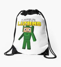 Little Lizard Gaming - Minecraft Youtuber Drawstring Bag