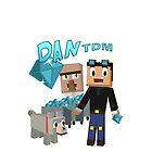 DanTDM The Diamond Minecart - Minecraft Youtuber by truefanatics