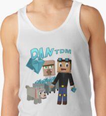 DanTDM The Diamond Minecart - Minecraft Youtuber Tank Top