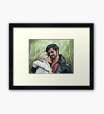 A Quiet Moment In Camelot Framed Print