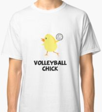 Volleyball Chick Classic T-Shirt