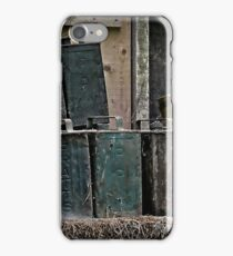 Oil cans iPhone Case/Skin