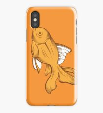 gold fish iPhone Case/Skin