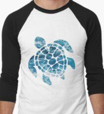 Ocean Sea Turtle Men's Baseball ¾ T-Shirt