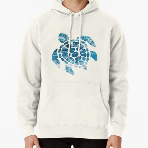 Ocean Sea Turtle Hoodie (Pullover)
