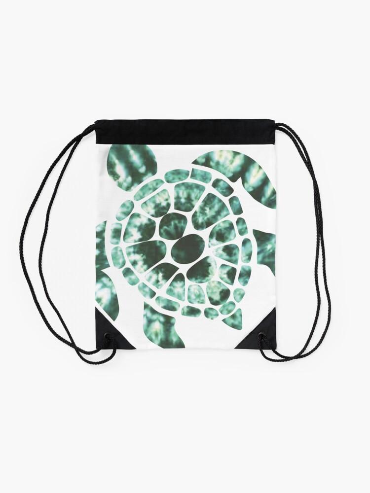 Vista alternativa de Mochila saco Tie Dye Sea Turtle 2