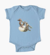 Baby Sloth One Piece - Short Sleeve