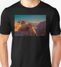 Jordan. Petra. In the Mountains. Unisex T-Shirt