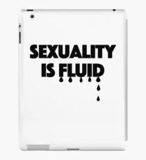 Sexuality is Fluid iPad Case/Skin