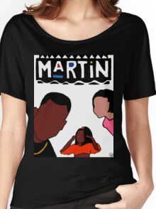 Martin (White) Women's Relaxed Fit T-Shirt