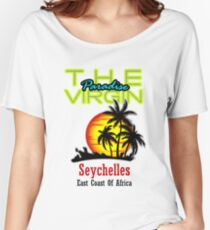 The Virgin Paradise, Seychelles Women's Relaxed Fit T-Shirt