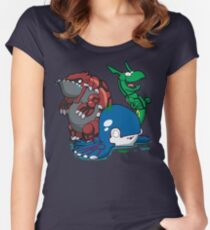 Number 382, 383 & 384! Women's Fitted Scoop T-Shirt