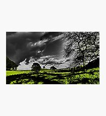 Stormy Skies and Sunny Days Photographic Print
