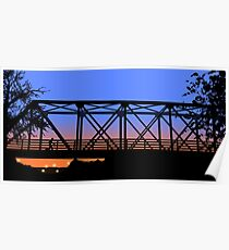 One Tree Hill Bridge Poster