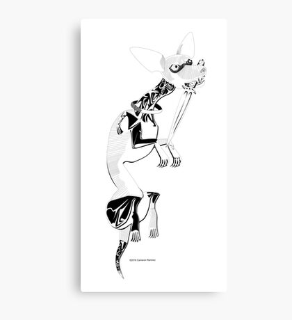 Momo as Inugami Canvas Print