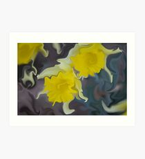 Daffodil Art Art Print