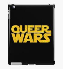 Queer Wars LGBT Parody  iPad Case/Skin
