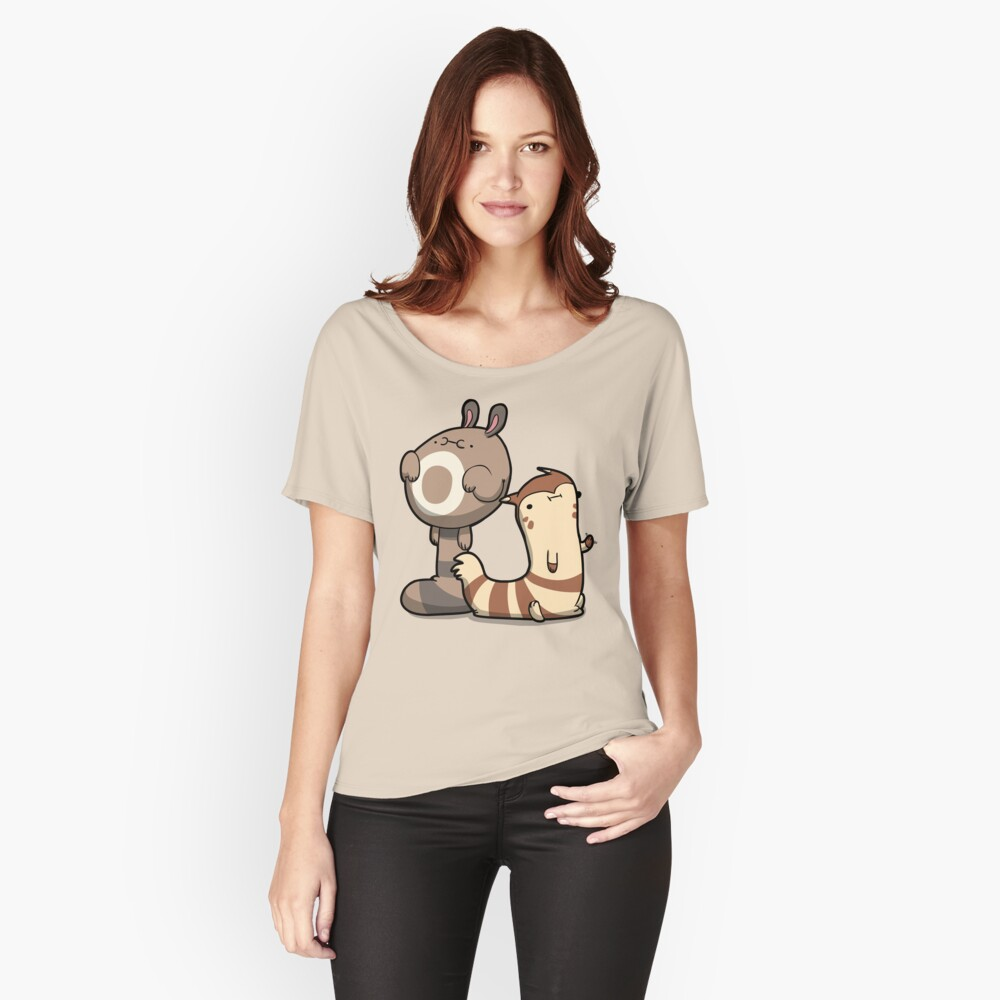 Furry Ferrets Women's Relaxed Fit T-Shirt Front