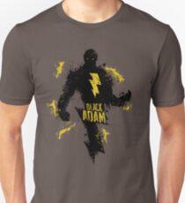 Black Adam Splatter Art T-Shirt