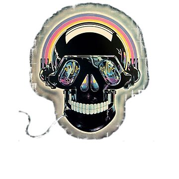 Jazzed up skull by AmitArt