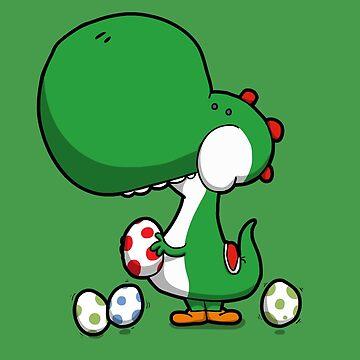 Egg Chuckin' Dinosaur by Aniforce