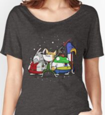 I see 'em up ahead. Let's rock 'n' roll! Women's Relaxed Fit T-Shirt