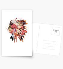 Indie skull Postcards
