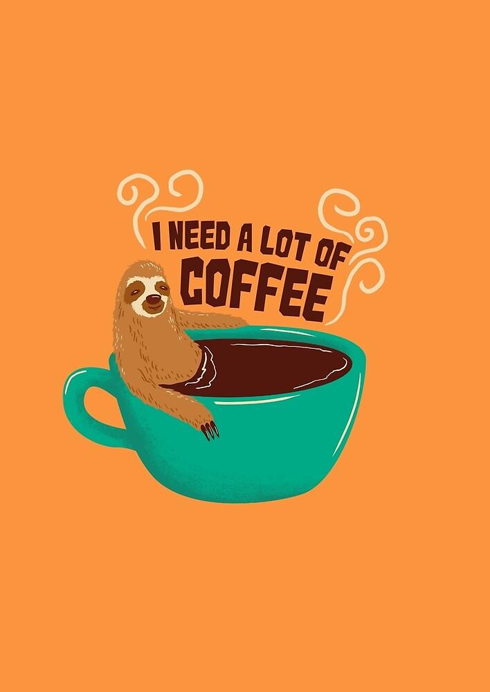 need a lot of coffee by motymotymoty