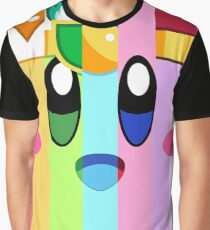 Kirby and his many faces Graphic T-Shirt