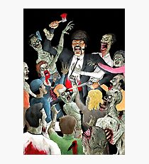 Jules Vs The Undead Photographic Print