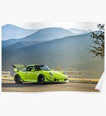 Porsche 911 993 RWB Poster