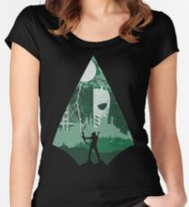 Arrow Deathstroke Women's Fitted Scoop T-Shirt