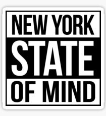 New York State of Mind Sticker