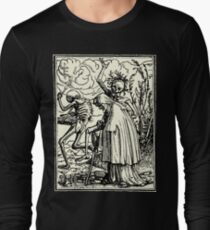 Dance of Death, Dance of macabre (Holbein) T-shirt manches longues