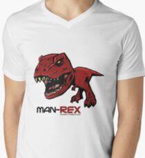 Chibi T-Rex Men's V-Neck T-Shirt