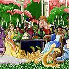 Wine In The Garden by Kiara Williams