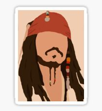 Captain Jack Sparrow Sticker